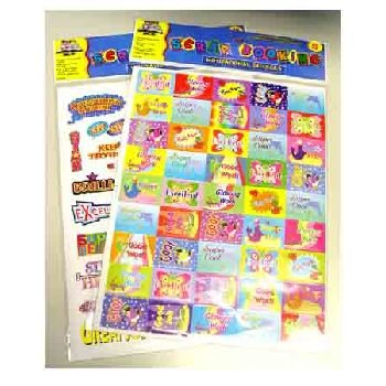 Wholesale Scrapbooking Motivational Stickers