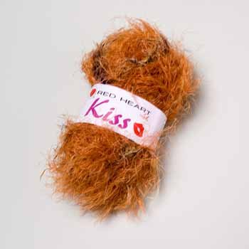 Wholesale Red Heart Limited Kiss Yarn - Hickory
