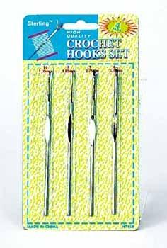 Wholesale 4 Piece Crochet Hook Set