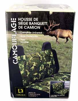 Wholesale Camouflage Bench Seat Cover