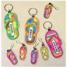 Wholesale Flip Flop Keyrings 72 Assorted Styles