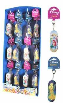 NEW! Wholesale Princess & Tinkerbell Tin Box Key Ring