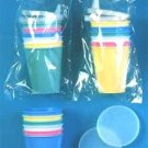 Wholesale 8 Pc Plastic Sipper Set