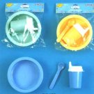 Wholesale 3 Pc Dish, Sip Cup & Spoon Set