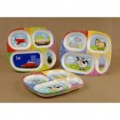 Wholesale Melamine Divided Kiddie Tray Floor Display