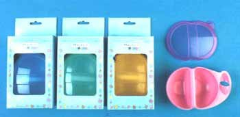 Wholesale Baby Weaning Dish W/Lid