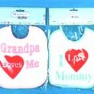 Wholesale Terry Cloth Bib In Assorted Love Designs