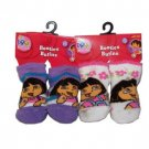 Wholesale Closeouts - Dora The Explorer Infant Booties