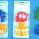 Wholesale 2 Pk Water Teethers In Assorted Shapes