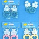 Wholesale 2 Pk Bear Teethers