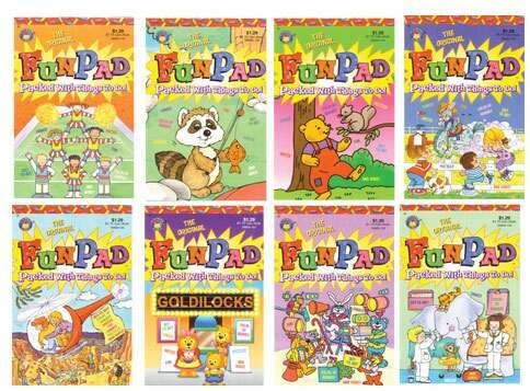 Wholesale 64 Page Color and Activity Books