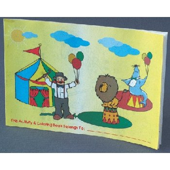 Wholesale Coloring and Activity Book