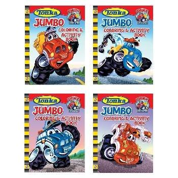 Wholesale TONKA JUMBO coloring & activity book