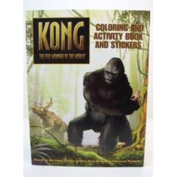 Wholesale Kong - 8th Wonder of the World Activity Book