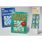 Wholesale Large Print Crossword Puzzle Books