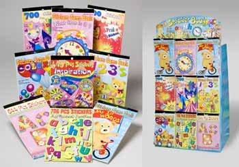 Wholesale Sticker Books