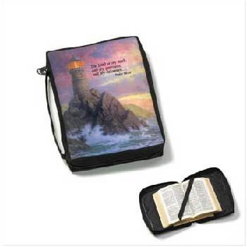 Wholesale Bible Cover - Kinkade With Verse
