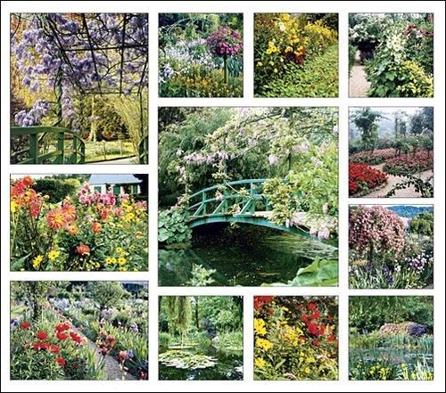 Secrets of Monet's Garden Calendar with Bonus