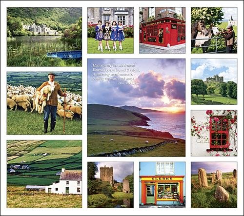 Ireland Calendar with Bonus