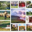 Ireland Calendar with Bonus