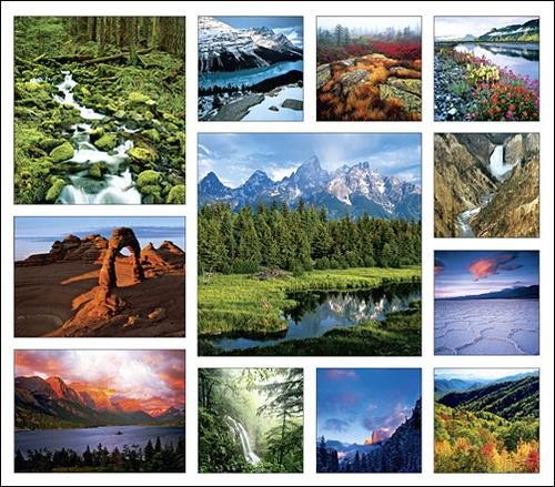 National Parks North America Calendar with Bonus