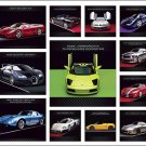 Dream Cars Calendar with Bonus