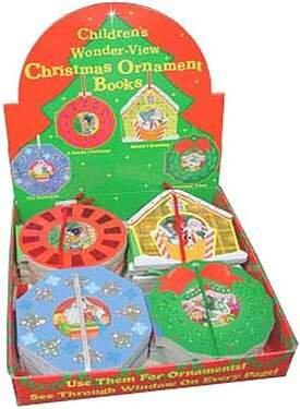 FREE DISPLAY! Childrens Christmas Ornament/Book