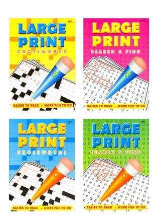 Large Print Puzzle Book