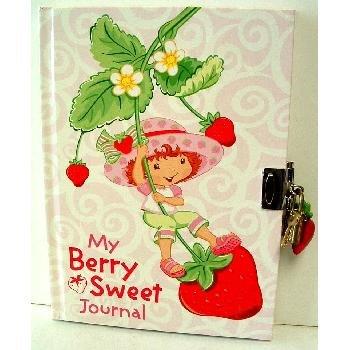 Strawberry Shortcake Journal w ith Lock and Key