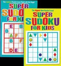 Jumbo 192 Pg. Super Sudoku For Kids Puzzles Book