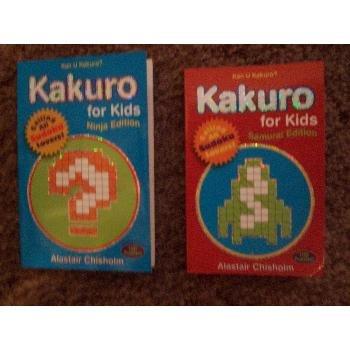 Kakuro for Kids - Ninja & Samurai Edition