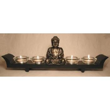 Buddha 4 Candle Holder