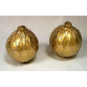 Wholesale Gold Ornament Candles