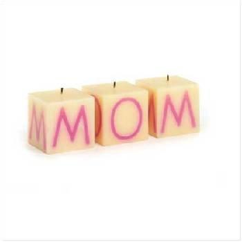 Wholesale Mom Cube Candle Set