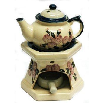 Wholesale Floral Teapot Oil Burner