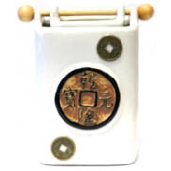 Wholesale White Chinese Coin Oil Burner