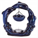Wholesale Glazed Porcelain Dolphin Oil Warmer