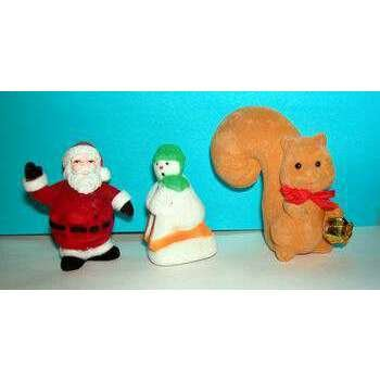 Wholesale Assorted Christmas Flocked Decorations..HOT SELLER!!