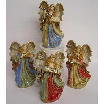 "Wholesale 6"" H Angel Figurines - 4 Assorted"