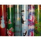 NEW! Wholesale Christmas Gift Wrapping Paper - 225 SQ. Ft. Rolls