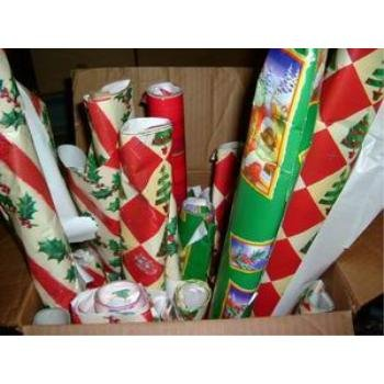 NEW! Wholesale Christmas Gift Wrap Not Packaged- 40 SQ. Ft. Rolls