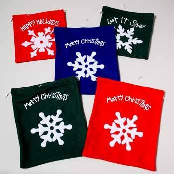 Wholesale Velvet Christmas Gift Bag