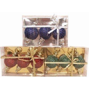 Wholesale Christmas Ornaments. 3 Pieces.