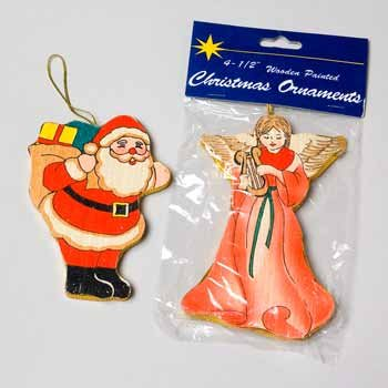 Wholesale Wooden Christmas Ornaments..HOT SELLER