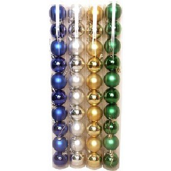 Wholesale 10 Pack Christmas Ball Ornaments