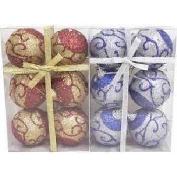 "Wholesale Christmas Balls. 6 per package. 5 cm (1.97"")"