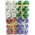 "Wholesale Christmas Balls, 6 per package. 6 cm (2.36"")"