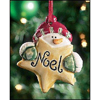Wholesale Noel Snowman Ornament