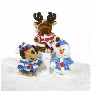 """Wholesale 7"""" 3 ASSORTED XMAS MUSICAL FRIENDS"""