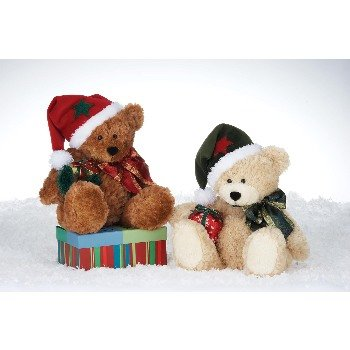 """Wholesale 9"""" Beige & Brown Bears With 2 Assorted"""